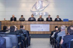 Reunião conselho eleição Leo Trombka